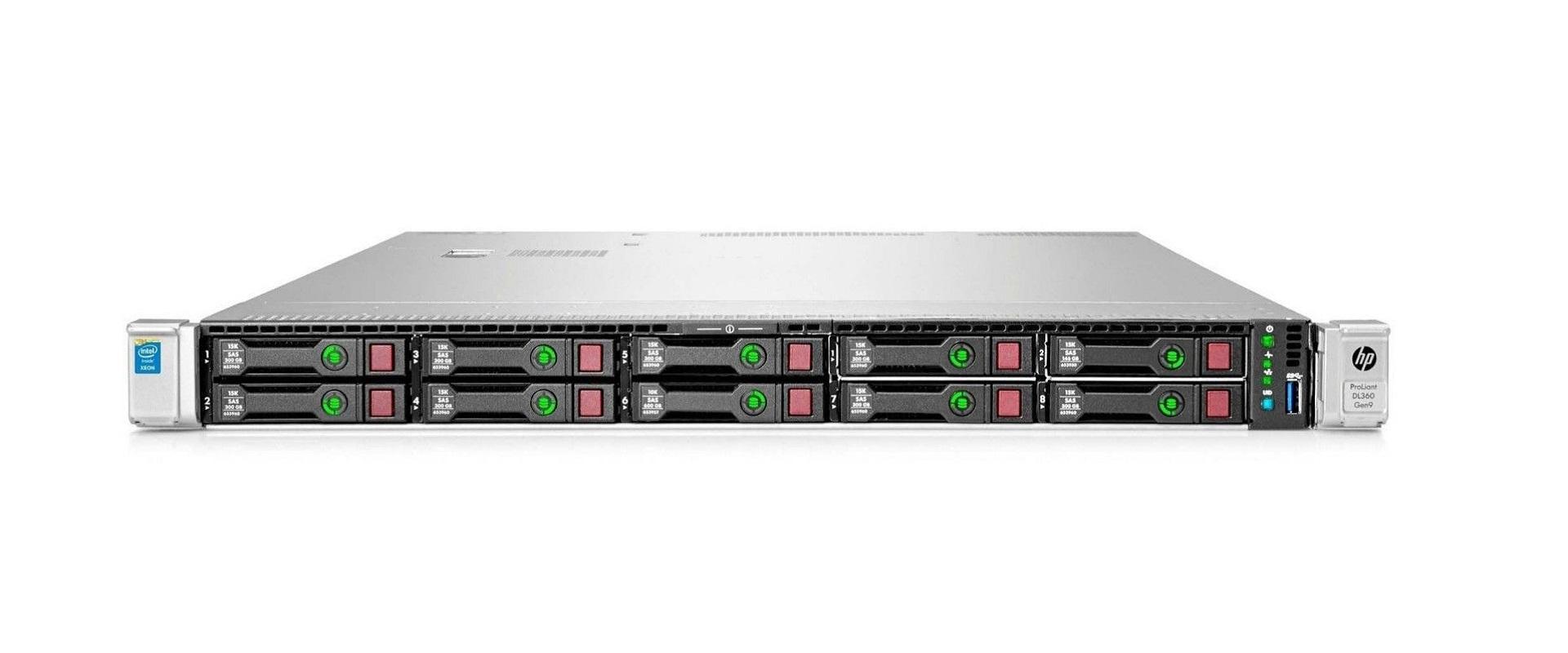 HP ProLiant DL360 G9 server